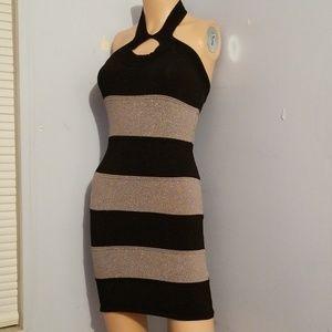 🎃BEBE BODYCON DRESS SMALL